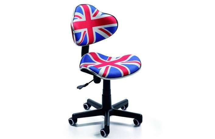 Silla estudio flag british