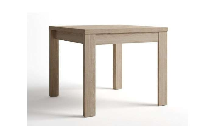 Mesa extensible de comedor de 90 cm a 180 cm en color sable