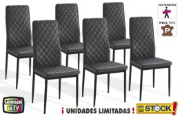 Sillas comedor (Pack 6 unidades) OFE MES B