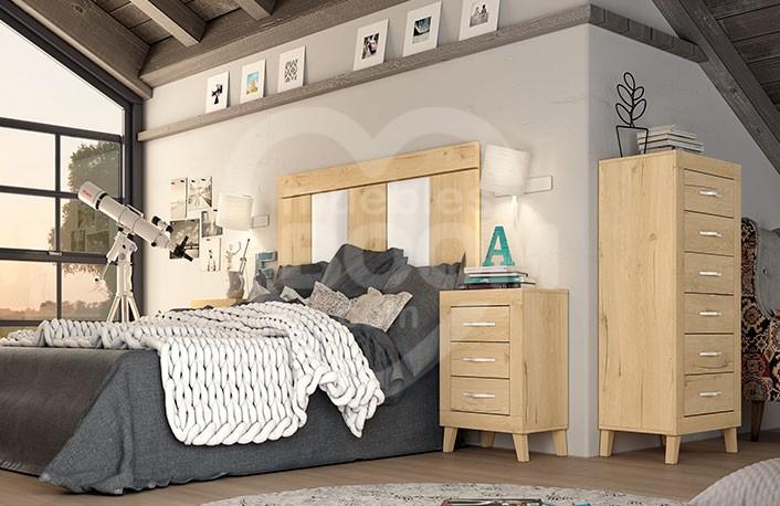 Dormitorios matrimonio con sinfonier 002.217