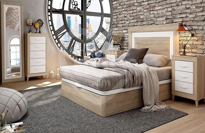 Dormitorios matrimonio con sinfonier y canapé 002.217
