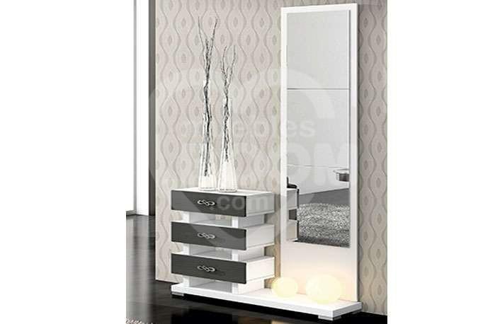 Recibidores con mural espejo 350-015