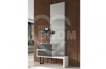 Recibidores con mural espejo 284-060 REC MOD 23