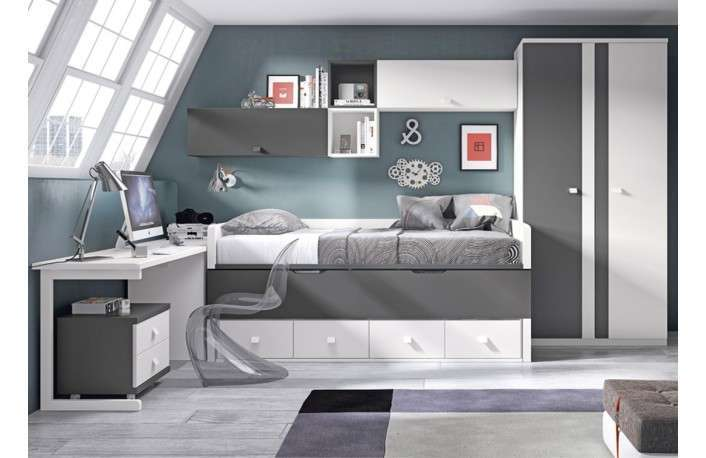Wron de casa habitacion bebe azul y blanca armario for First outlet muebles