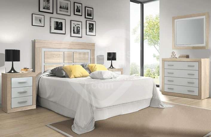 Dormitorios matrimonio con comoda 012.021