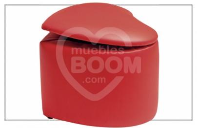 Puff corazon abatible 006-016