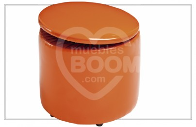 Pouff baúl redondo abatible 006-016