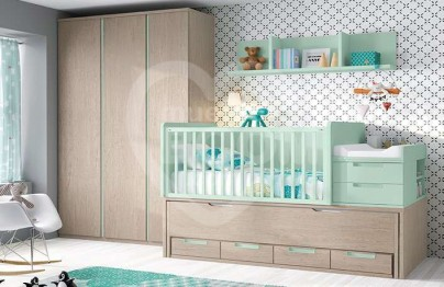 Dormitorio convertible nature nube 019-063
