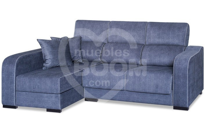 Chaise longue izquierda reclinable extraible con arcón 302-202 CHA IZ
