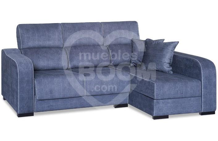 Chaise longue derecha reclinable extraible con arcón 302-202 CHA DE