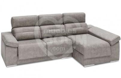 Chaise longue derecha reclinable extraible con arcón 058-022