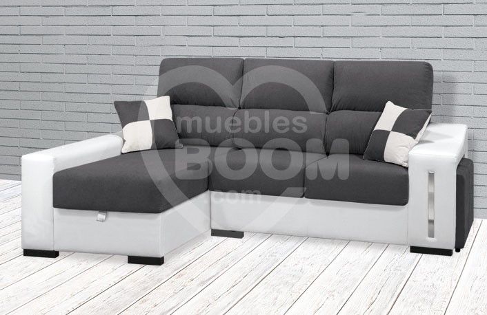 Chaise longue extraible reclinable y arcón OFE DIA SD4