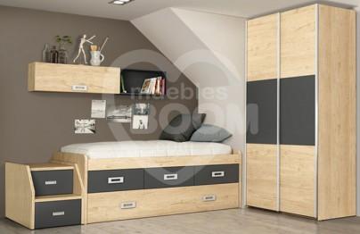 Dormitorios juveniles con armario 002-203 JUV MOD 01