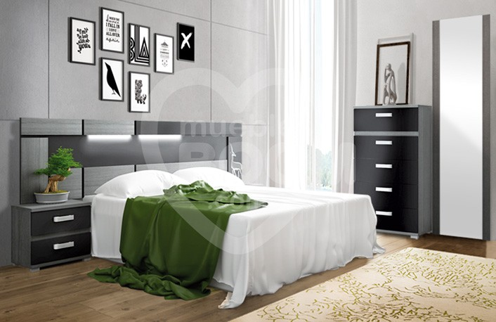 Dormitorios matrimonio con sinfonier 012.005