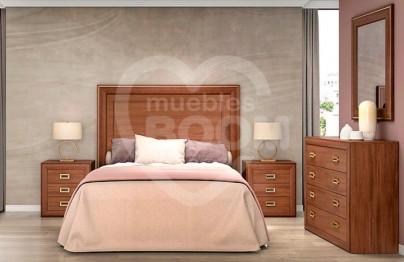 Dormitorios matrimonio con comoda 052.082