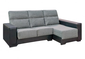 Chaise longue desenfundable con arcón y 2 pouffs302 CHA BOO 17 1