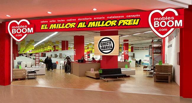 Tienda de MUEBLES BOOM en BADALONA - BARCELONA