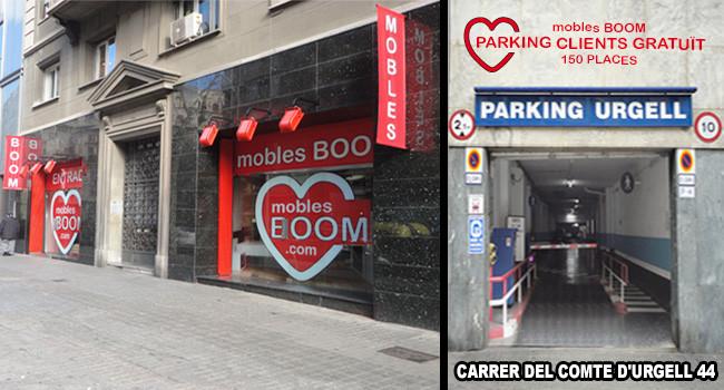 Muebles Boom en Barcelona, Comte de Urgell