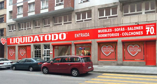 Tiendas de muebles en gij n asturias sof s colchones for Muebles boom burgos