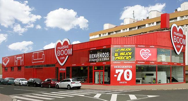 Tiendas de muebles en logro o sof s colchones for Muebles boom burgos