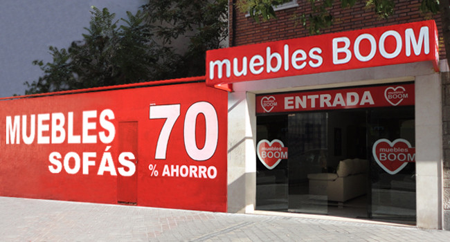 Muebles Boom en Madrid Centro
