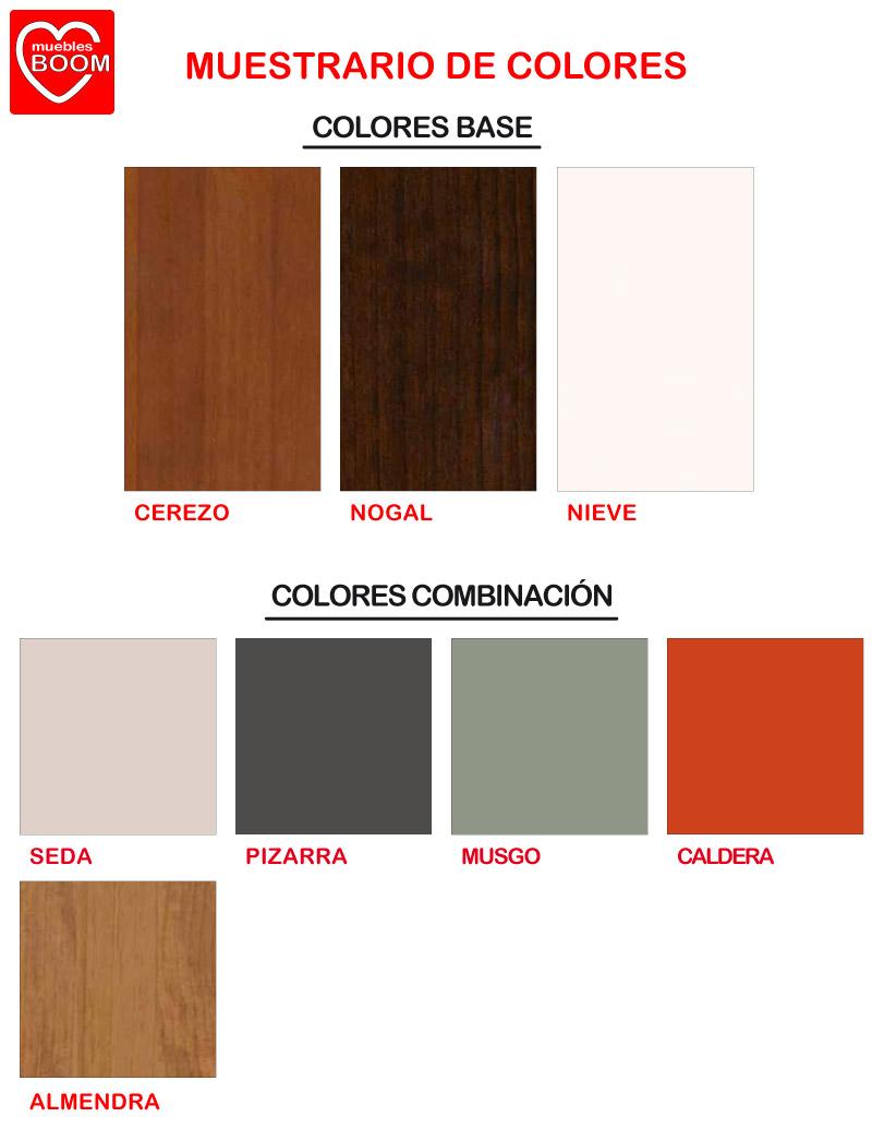 Muestras de las colecciones de colores para el árticulo