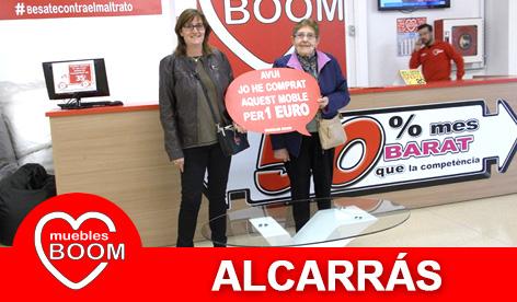 Muebles BOOM - Muebles a 1 euro Alcarrás