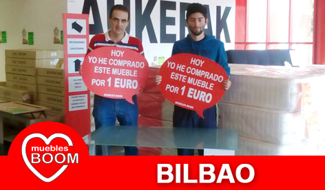 Muebles BOOM - Muebles a 1 euro Bilbao