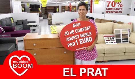 Muebles BOOM - Muebles a 1 euro El Prat