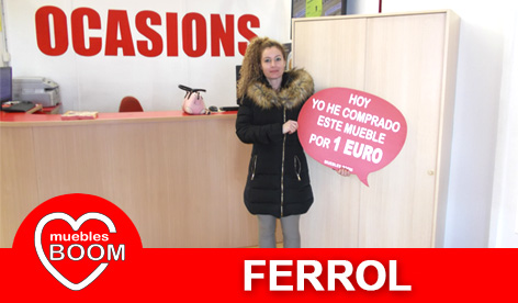 Muebles BOOM - Muebles a 1 euro Ferrol