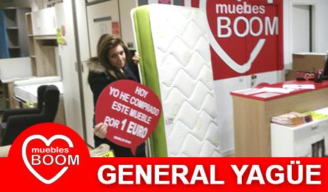 Muebles BOOM - Muebles a 1 euro General Yagüe