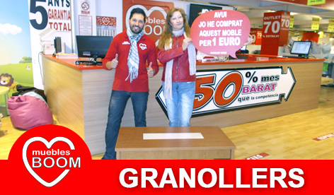 Muebles BOOM - Muebles a 1 euro Granollers