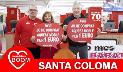 Muebles BOOM - Muebles a 1 euro Santa Coloma