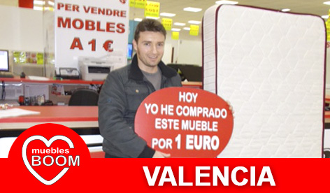 Muebles BOOM - Muebles a 1 euro Valencia
