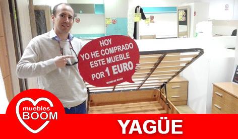 Muebles BOOM - Muebles a 1 euro Yagüe